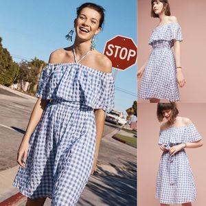 🍎Anthropologie Kinsey off-the-shoulder dress